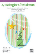Cover icon of A Swingin' Christmas sheet music for choir (SSA: soprano, alto) by Anonymous and Jay Althouse, intermediate skill level