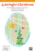 Cover icon of A Swingin' Christmas sheet music for choir (2-Part) by Anonymous and Jay Althouse, intermediate skill level