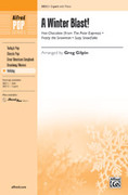 Cover icon of A Winter Blast! sheet music for choir (2-Part) by Anonymous and Greg Gilpin, intermediate skill level