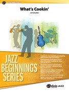 Cover icon of What's Cookin' (COMPLETE) sheet music for jazz band by Victor Lpez, beginner skill level