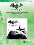 Cover icon of Batman sheet music for concert band (full score) by Nick Arundel, easy skill level