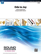 Cover icon of Ode to Joy (COMPLETE) sheet music for concert band by Ludwig van Beethoven and Robert Sheldon, classical score, beginner skill level