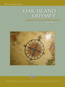 Cover icon of Oak Island Odyssey sheet music for concert band (full score) by Vince Gassi, intermediate skill level