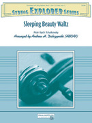 Cover icon of Sleeping Beauty Waltz (COMPLETE) sheet music for string orchestra by Pyotr Ilyich Tchaikovsky and Pyotr Ilyich Tchaikovsky, classical score, easy skill level