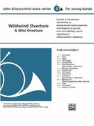 Cover icon of Wildwind Overture (COMPLETE) sheet music for concert band by John Kinyon, beginner skill level