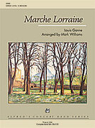 Marche Lorraine for concert band (full score) - intermediate concert band sheet music