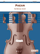 Cover icon of Paean sheet music for string orchestra (full score) by Shirl Jae Atwell, intermediate skill level