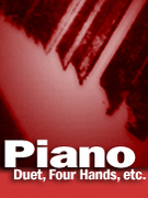 Cover icon of Misty sheet music for piano four hands by Erroll Garner and John Burke, easy/intermediate skill level