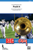 Push It for marching band (full score) - movies marching band sheet music
