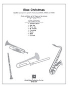 Cover icon of Blue Christmas (COMPLETE) sheet music for choir by Bill Hayes and Jay Althouse, intermediate skill level