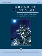 Cover icon of Holy Night, Silent Night (COMPLETE) sheet music for concert band by Adolphe Adam and Franz Gruber, intermediate skill level