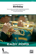 Cover icon of Birthday (COMPLETE) sheet music for marching band by Katy Perry and Bonnie McKee, intermediate skill level