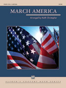 March America (COMPLETE) for concert band - keith christopher flute sheet music