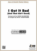 Cover icon of I Got It Bad sheet music for jazz band (full score) by Duke Ellington and Billy Strayhorn, intermediate skill level