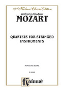 Cover icon of String Quartets (COMPLETE) sheet music for string quartet by Wolfgang Amadeus Mozart, classical score, easy/intermediate skill level