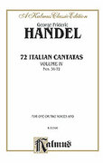 Cover icon of 72 Italian Cantatas for Soprano or Alto, Nos. 56-72 (COMPLETE) sheet music for voice and piano by George Frideric Handel, classical score, intermediate skill level