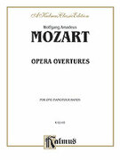 Cover icon of Opera Overtures (COMPLETE) sheet music for piano four hands by Wolfgang Amadeus Mozart, classical score, easy/intermediate skill level