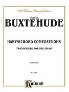Cover icon of Compositions (COMPLETE) sheet music for piano solo by Dietrich Buxtehude, classical score, intermediate skill level