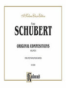 Cover icon of Original Compositions for Four Hands, Volume II (COMPLETE) sheet music for piano four hands by Franz Schubert, classical score, easy/intermediate skill level