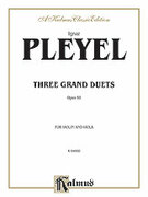 Cover icon of Three Grand Duets, Op. 69 (COMPLETE) sheet music for violin and viola by Ignaz Joseph Pleyel and Ignaz Joseph Pleyel, classical score, intermediate duet