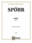 Cover icon of Duet, Op. 13 (COMPLETE) sheet music for violin and viola by Louis Spohr, classical score, intermediate duet