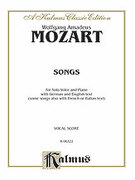 Cover icon of 39 Songs for Medium High Voice (COMPLETE) sheet music for voice and piano by Wolfgang Amadeus Mozart, classical score, intermediate skill level