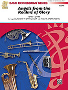 Cover icon of Angels from the Realms of Glory sheet music for concert band (full score) by Henry T. Smart, Robert W. Smith and Michael Story, easy skill level