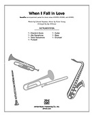 Cover icon of When I Fall in Love sheet music for Choral Pax (full score) by Victor Young, Edward Heyman and Jay Althouse, wedding score, easy/intermediate skill level