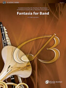 Cover icon of Fantasia for Band (COMPLETE) sheet music for concert band by Vittorio Giannini, advanced skill level