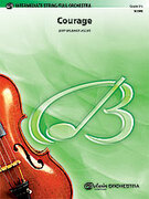 Cover icon of Courage sheet music for full orchestra (full score) by Jerry Brubaker, intermediate skill level