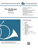 Cover icon of The Challenger (COMPLETE) sheet music for concert band by John Kinyon, beginner skill level