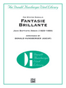 Cover icon of Fantasie Brillante sheet music for concert band (full score) by Jean Baptiste Arban, classical score, easy/intermediate skill level
