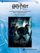 Cover icon of Harry Potter and the Deathly Hallows, Part 1, Suite from (COMPLETE) sheet music for full orchestra by Alexandre Desplat, intermediate skill level