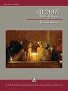 Cover icon of Gloria (COMPLETE) sheet music for concert band by Randol Alan Bass, classical score, advanced skill level