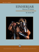 Cover icon of Einherjar (COMPLETE) sheet music for concert band by Jeremy Bell, intermediate skill level