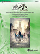 Cover icon of Suite from Fantastic Beasts and Where to Find Them (COMPLETE) sheet music for concert band by James Newton Howard and John Williams, intermediate skill level