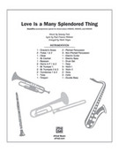 Cover icon of Love Is a Many Splendored Thing (COMPLETE) sheet music for band or orchestra by Sammy Fain, Paul Francis Webster and Mark Hayes, easy/intermediate skill level