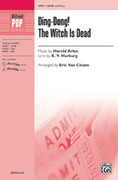 Cover icon of Ding-Dong! The Witch Is Dead sheet music for choir (SATB: soprano, alto, tenor, bass) by Harold Arlen and E.Y. Harburg, intermediate skill level