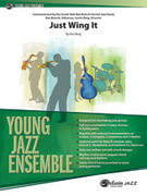 Cover icon of Just Wing It (COMPLETE) sheet music for jazz band by Kris Berg, intermediate skill level
