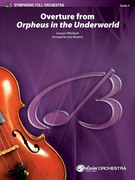 Cover icon of Overture from Orpheus in the Underworld sheet music for full orchestra (full score) by Jacques Offenbach and Louis Bergonzi, classical score, intermediate skill level