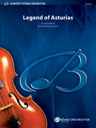 Cover icon of Legend of Asturias (COMPLETE) sheet music for string orchestra by Isaac Alb?niz, classical score, intermediate skill level