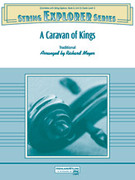 Cover icon of A Caravan of Kings sheet music for string orchestra (full score) by Anonymous, intermediate skill level