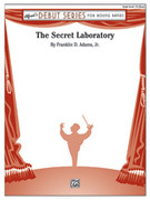 Cover icon of The Secret Laboratory sheet music for concert band (full score) by Franklin D. Adams, intermediate skill level