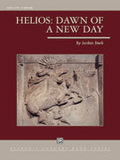 Cover icon of Helios: Dawn of a New Day (COMPLETE) sheet music for concert band by Jordan Sterk, intermediate skill level