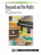 Cover icon of Thousand and One Nights - Piano Quartet (2 Pianos, 8 Hands) sheet music for piano solo by Johann Strauss, classical score, intermediate skill level
