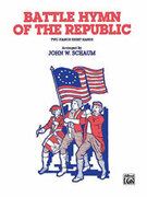 Cover icon of Battle Hymn of the Republic - Piano Quartet (2 Pianos, 8 Hands) sheet music for piano solo by Anonymous, intermediate skill level