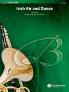 Cover icon of Irish Air and Dance sheet music for concert band (full score) by Anonymous, easy skill level