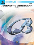 Cover icon of Journey to Aldebaran (COMPLETE) sheet music for concert band by Vince Gassi, easy/intermediate skill level