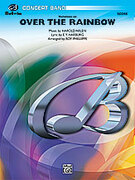 Cover icon of Over the Rainbow, Variations on sheet music for concert band (full score) by Harold Arlen and E.Y. Harburg, easy/intermediate skill level