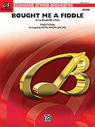 Cover icon of Bought Me a Fiddle sheet music for string orchestra (full score) by Anonymous and Kevin Mixon, easy skill level